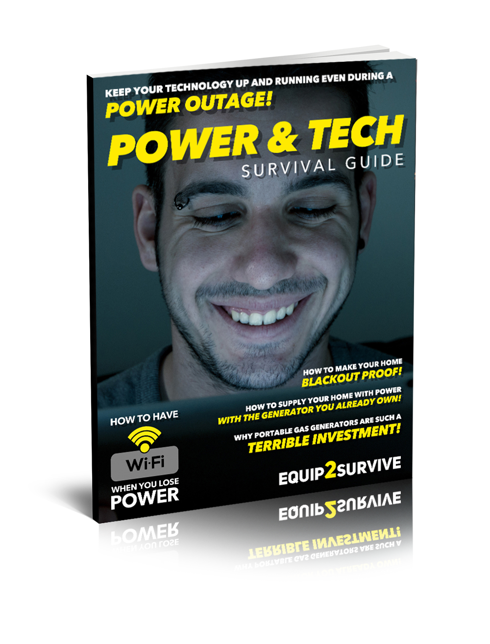 """Survival Power & Tech Guide!"" FREE Ebook"
