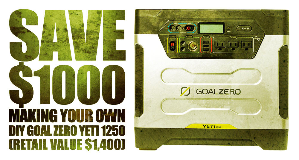 Save $1000 Or More Building Your Own DIY Emergency Battery Bank!